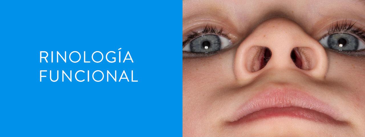 servicios rinología funcional